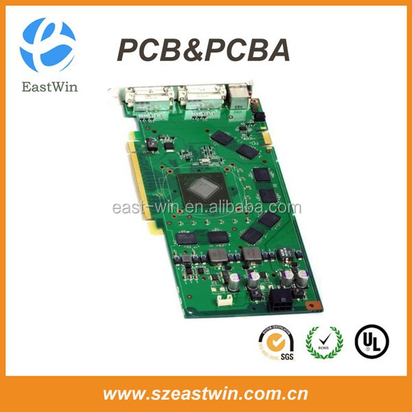 Audio Amplifier Board Pcba Manufacturing with Yamaha Assembly