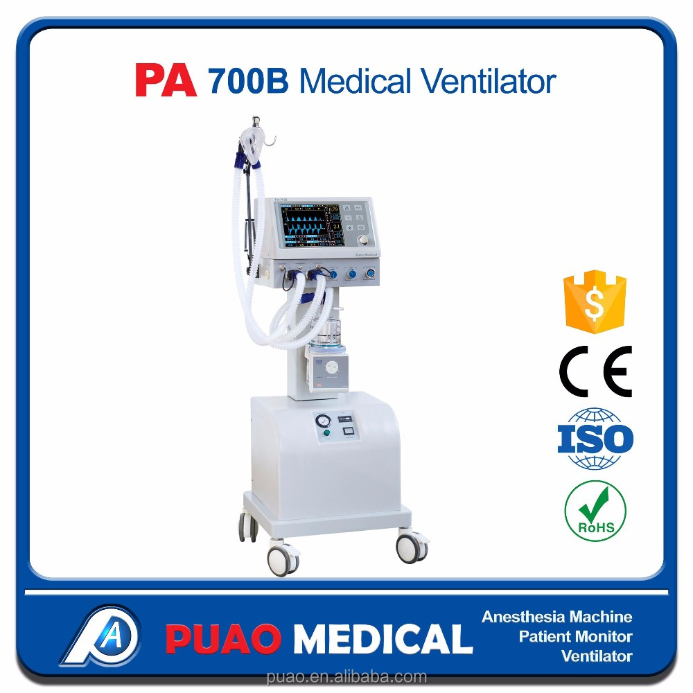 Price of Portable oxygen ventilator,Medical Ventilator PA-700B WITH Resonable Price
