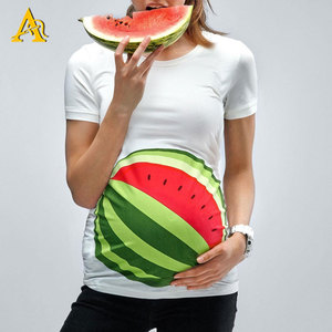 Wholesale Maternity Clothing Funny Cute Pregnancy T Shirts Maternity Soft Wear Top