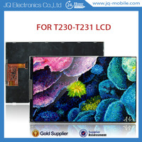 Wholesale flexible lcd display for Samsung galaxy tab T230 T231 spare parts