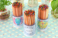 60 pcs wooden color pencil,pencil color set
