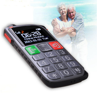strong flashlight sos alarm big font dual lcd flip best senior citizen cell phone deals with cradle charger