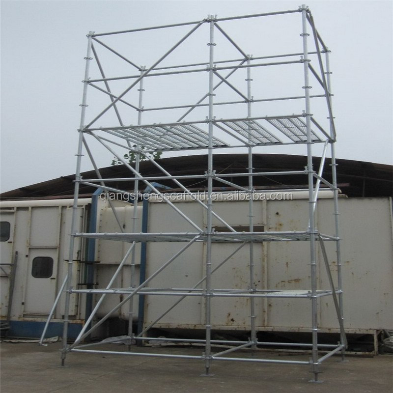 Quickly use Galvanized Ringlock Scaffolding(hanging scaffold)(made in Shandong)