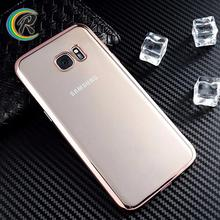 Perfectly Fit cover for samsung galaxy s7 for Samsung S7 case Plating Electroplating celular