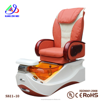 kangmei sanitary orange salon spa massage pedicure chair /foot spa tool (KM S811-10)