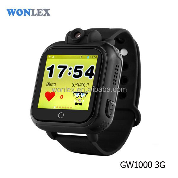 New Products 2017 GPS Tracker 3G Kids GPS Smart Watch For Children wrist watch gps tracking device