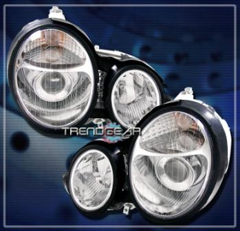 HEAD LIGHT TAIL LAMP W211, W202, W210, W203 XENON HALOGEN