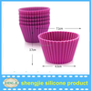Home made cute cup shape silicone cake mold rice cake mould