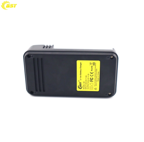 High quality black 2 slots BSY B2 16340 3.6v battery charger