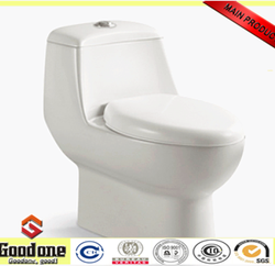Ceramic one piece toilet sanitary ware toilet made in China(6826)