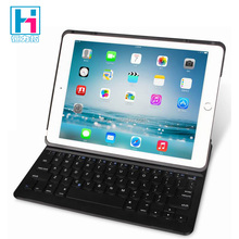 For iPad Air 2 Wireless Bluetooth Keyboard Leather Case Folio Leather Case Wireless Bluetooth Keyboard For iPad Pro 9.7 inch