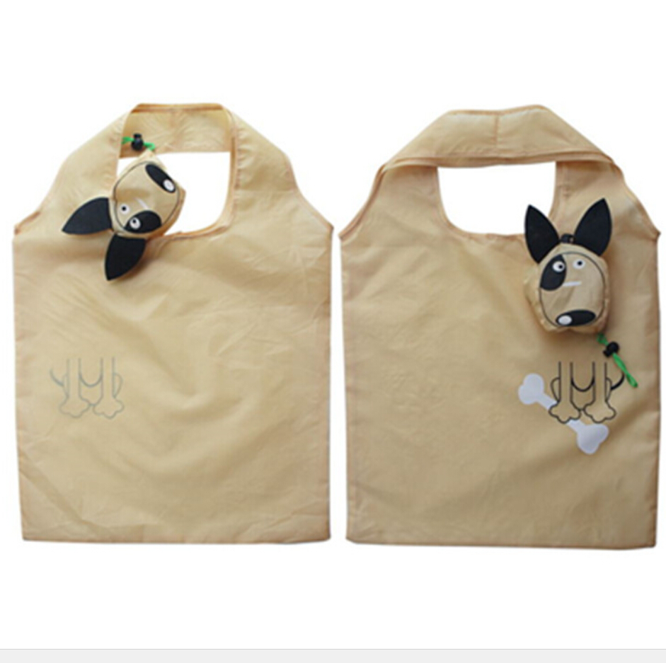 Promotional Dog shape Foldable Polyester Shopping Bag With Best Price