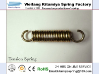 Extension Tension Spring with Double Hooks