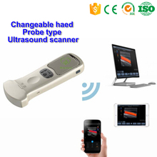 MY-A010L Medical Pocket Ultrasound System Wireless Changeable Head Ultrasouic Probe type Ultrasound Scanner