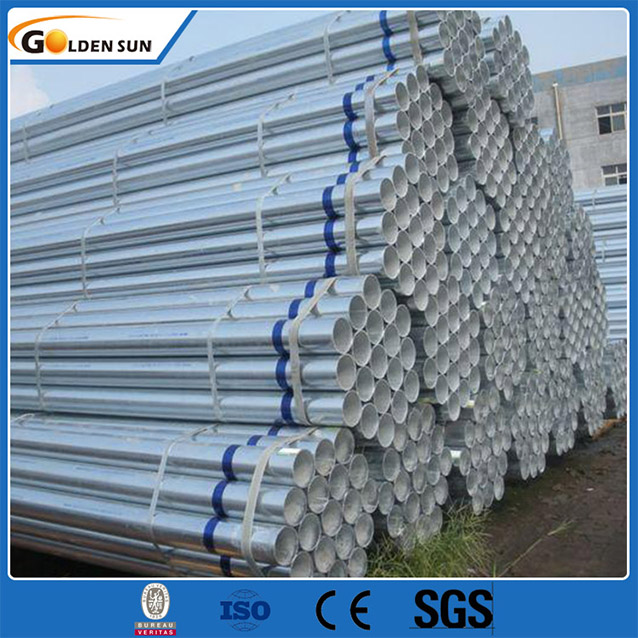 Sch40 Galvanized Steel Pipe/Scaffolding Steel Pipe/Weight of GI Pipe