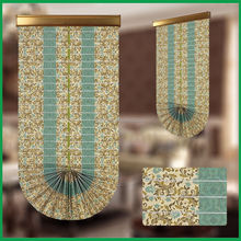 Cheap price fashional roller/roman blinds fan style