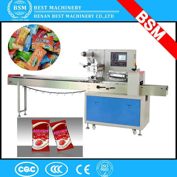 sugar sachet candy peanuts bean sweet packing machine