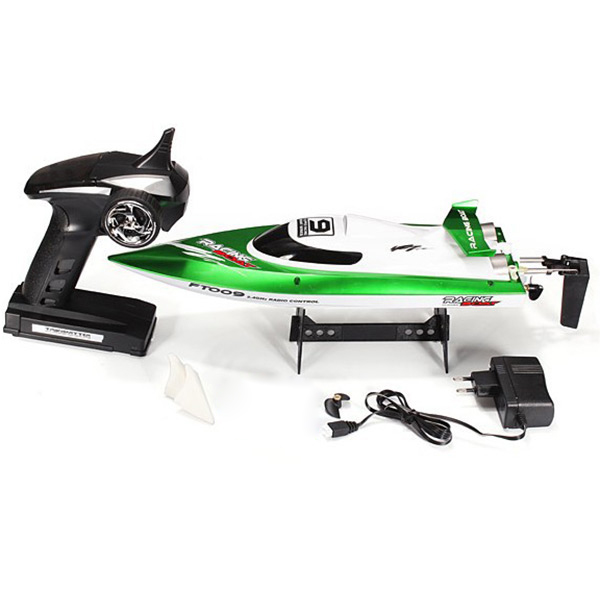 FeiLun FT009 2.4G RC Racing Boat High Speed Yacht Anti-Crash Remote Control Speedboat Self-Righting Novice Level RC Jet Boat