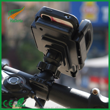 Mobile cell phone 360 rotating car accessorides motorcycle grip holder for cellphone/cellphone holder for motorcycle