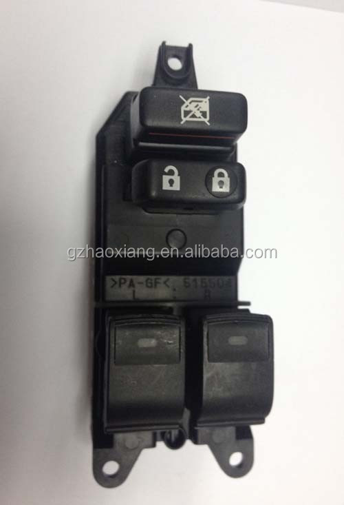 Auto power window regulator master switch assy for Auto 84040-74020/8404074020