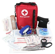 Wholesale Waterproof Medical First Aid Kit for Hiking, Camping, Travel, Car & Cycling Be Prepared For All Outdoor or Indoor