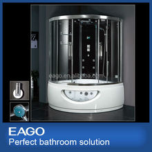 Enclosed Steam Bath Shower Room with Whirlpool Tub (DA333F8)