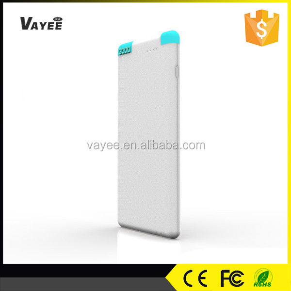 Credit card size hot selling 3000mah aili power bank