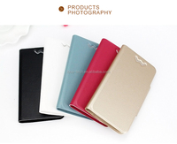 2017 HK Expo Booth No11K20 durable using and stable strong pu flip leather case cover for huawei mate 7
