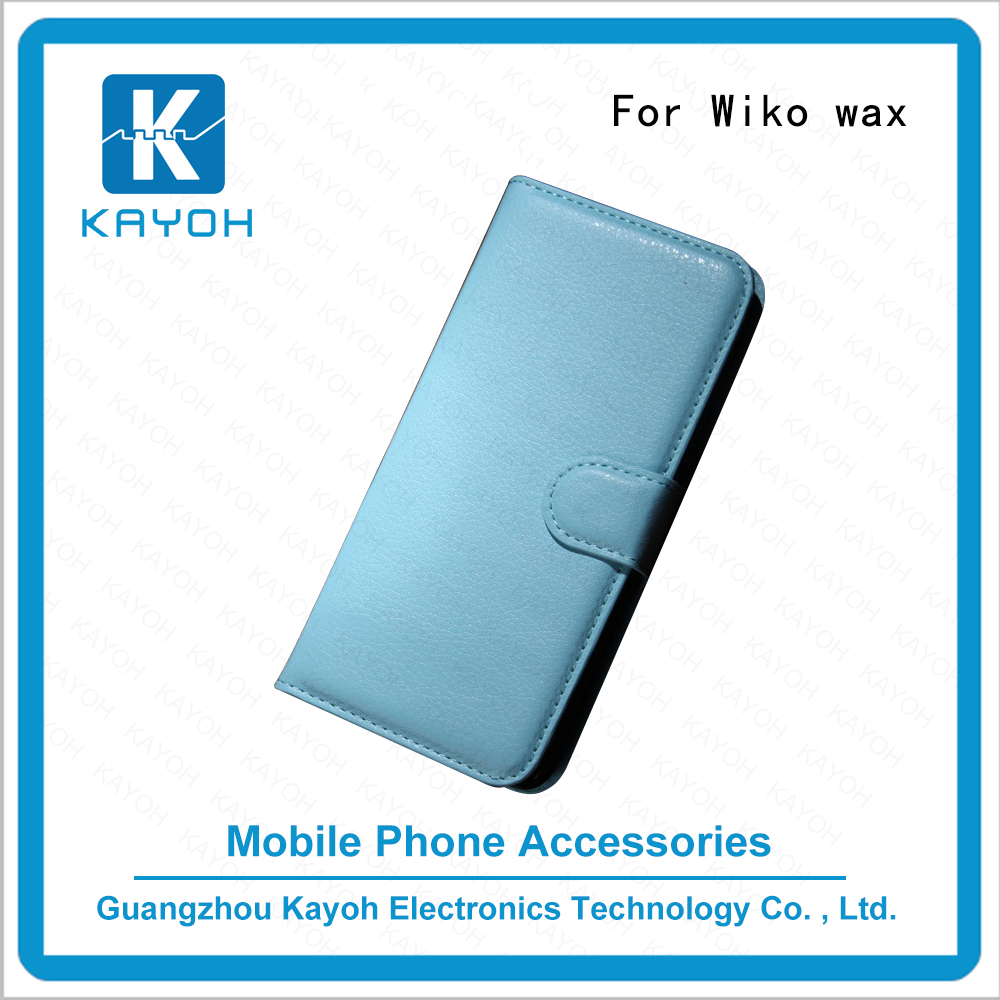 [kayoh]Universal smart phone wallet style Cell phone accessories leather phone case for WIKO wax