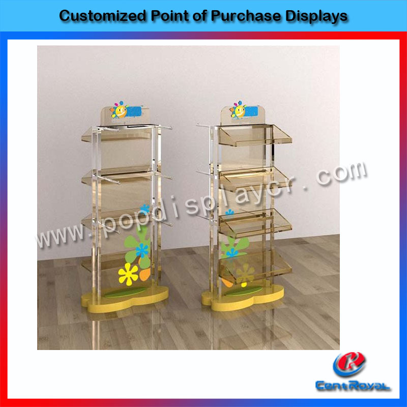 Hot sale counter acrylic cake pops display stand