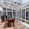 Sunrooms glass houses with skylights