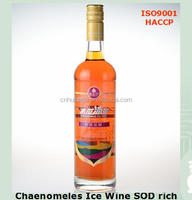 Health Natural SOD fermented Chaenomeles Ice Wine fruit wine
