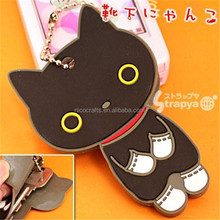 soft PVC korea mobile phone hanging accessories for girl
