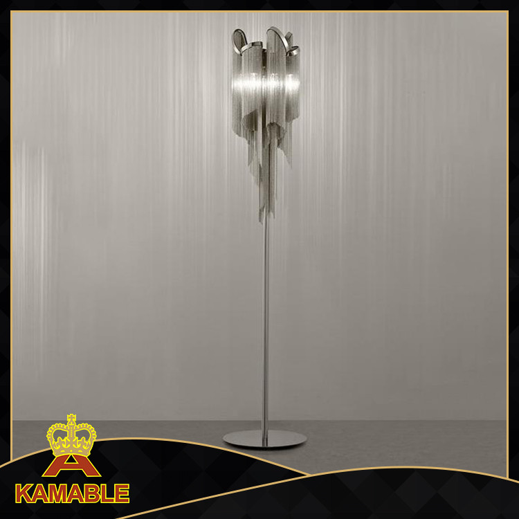 contemporary india floor lamp with chain