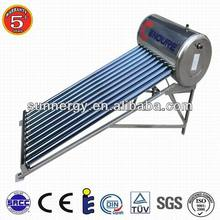 Plug and play solar system and solar water heater