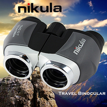 NIKULA 10x22 Binoculars High Power Low Light Level Night Vision Outdoor Spotting Scope Portable Pocket Mini Telescope
