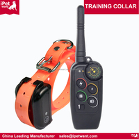 2 dog training collar with remote waterproof dog remote shock training collar