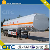 Professional Manufacture for Tri-Axle Fuel/Gasoline Storage Tank Semi Trailer/oil tank semi trailer