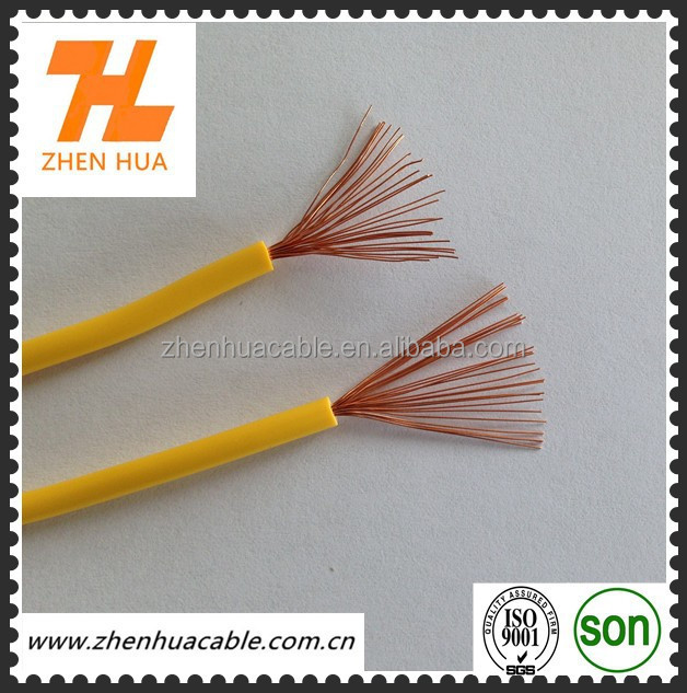 China RV single core flexible cable for large cross section