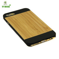 Hot Selling Wooden Phone case Wood + PC Phone Case For Iphone5/6