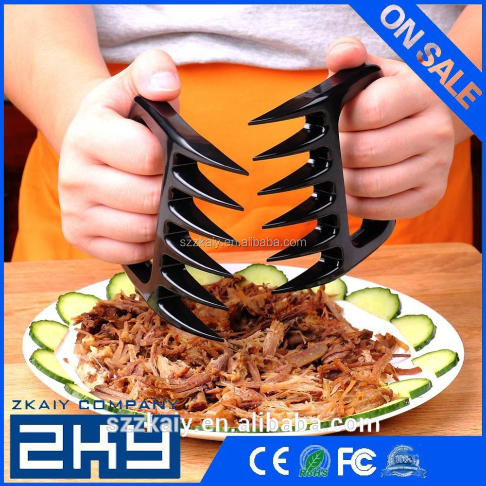 Bear Paws Pork Floss Meat Claws Forks Handler Tongs Pull Shred Beef BBQ Barbecue Tool Cooking Sets