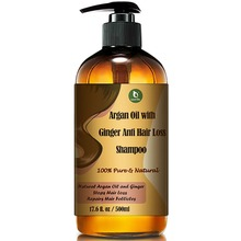 Ginger Scalp Care Shampoo for Anti Hair Loss, Anti Dandruff and Promoting Hair Regrowth