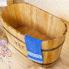 KX quality portable wooden tub pet bathtub