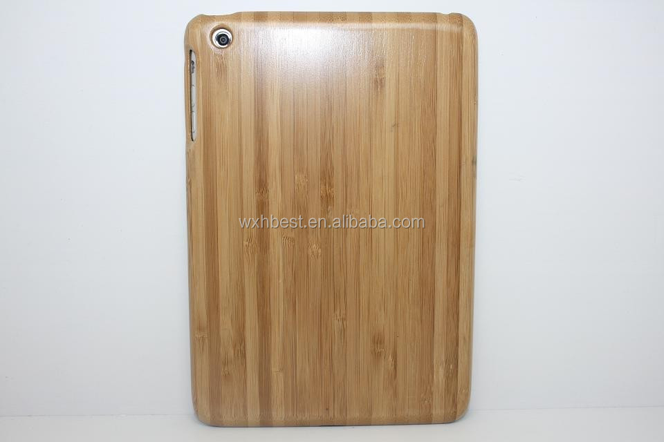 Hot Selling Colorful Wood Wooden Case for iPad Mini , for iPad Mini Bamboo Wooden Case Paypal Accepted