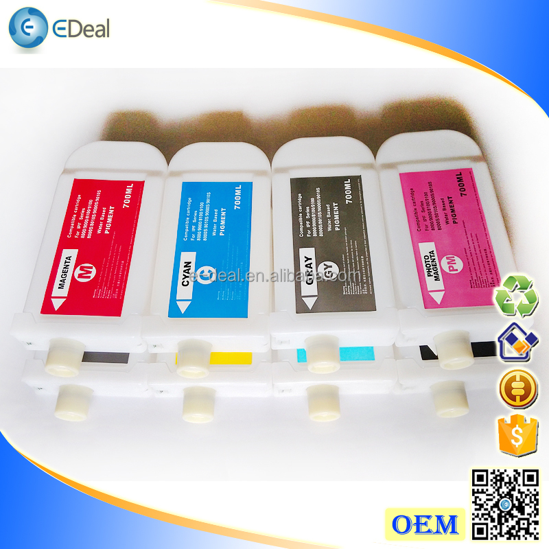 For Canon arc Chip PFI703 Refillable Ink Cartridge For Canon IPF810 IPF820 Empty Cartridge