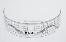 High quality eyebrow stencil/eyebrow shaping tool/eyebrow ruler for permanent cosmetic makeup
