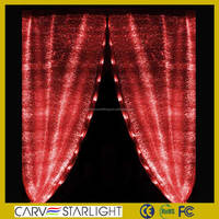 luxury hotel curtains led curtain light wholesale