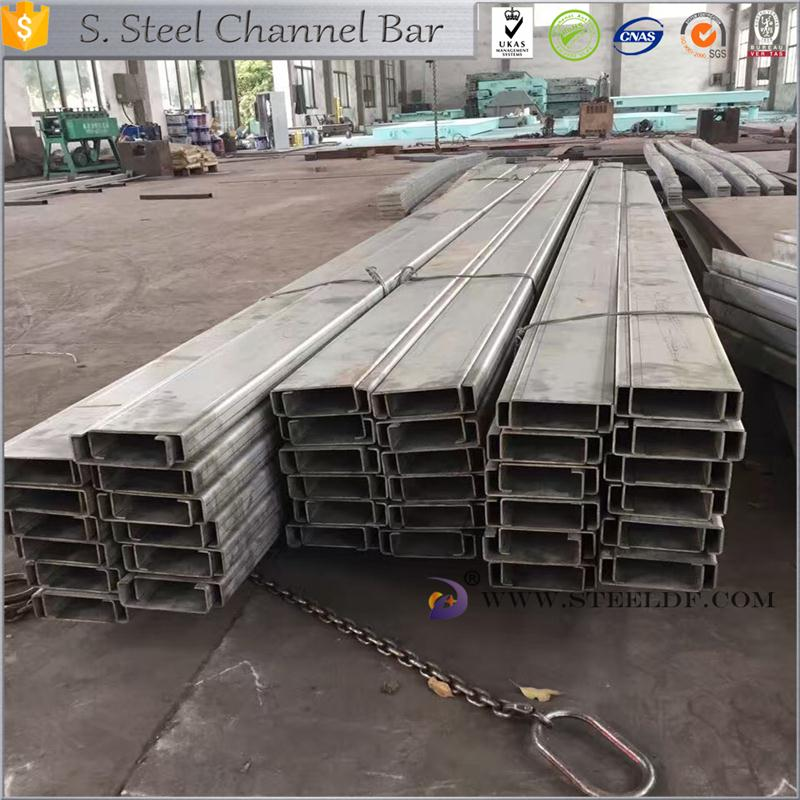 Hot selling 310S stainless steel channel steel with high quality