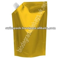 Spout Wing packaging Bag