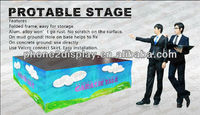 adjustable portable event stage